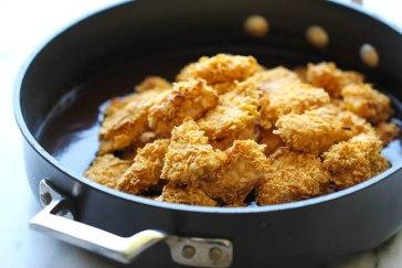 Хрустящий цыпленок в азиатском стиле
